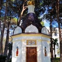 Часовня Святого Георгия Победоносца на территории санатория «Русь» в г. Сочи.