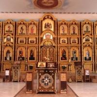 """Иконостас для храма """"Похвалы Пресвятой Богородицы"""" расположенном в Советском районе гор. Волгограда"""