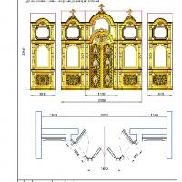 Иконостас в церковь Покрова Пресвятой Богородицы в Яссах