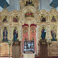 Храм великомученика Ефрема Селенгинского п. Новоширокинский
