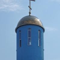 Купол на храм в селе Ореховка