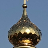 Наш купол засиял на православной часовне в республике Дагестан.
