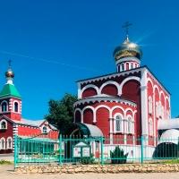 Новые купола на Храм Святого Духа Утешителя г. Жирновск