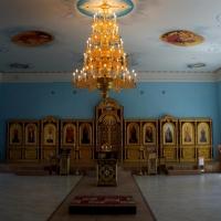 Паникадило и иконостас для Храма Похвала Пресвятой Богородицы (Волгоград)