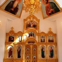 Торжественное открытие храма Всемилостивого Спаса