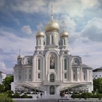 Участие в конкурсе на изготовление куполов для храма Новомучеников и Исповедников Российских на Крови в Сретенском монастыре на Лубянке г. Москва
