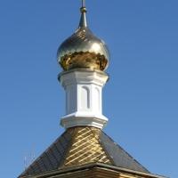 В п.Пятиморск Волгоградской области на Храме Святой равноапостольной княгини Ольги засияли пять «золотых куполов»