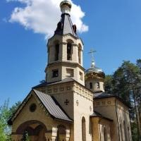 В селе Бирюли Высокогорского района республикиТатарстан появился новый православный храм Святого апостола Андрея Первозванного.