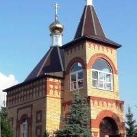 В селе Ивановка Лениногорского района на месте сгоревшей в 2013 году часовни завершается строительство нового храма Усекновения главы Иоанна Предтечи.