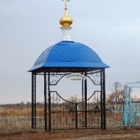 Входные группы на кладбище в пос. Голубовка Павлодарского р-на Казахстан